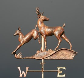 Two Deer Weathervane